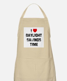 I * Daylight Savings Time BBQ Apron