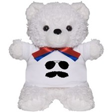 Macho Mustache Teddy Bear