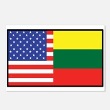 USA/Lithuania Postcards (Package of 8)