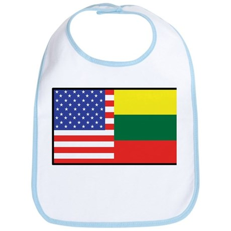 USA/Lithuania Bib