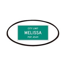 Melissa, Texas City Limits Patches