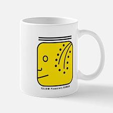 YELLOW Planetary HUMAN Mug
