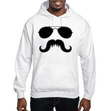 Macho Mustache Hoodie