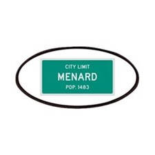 Menard, Texas City Limits Patches