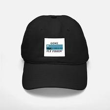 Gone Fly Fishin' Baseball Hat