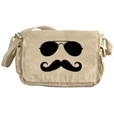 Macho Mustache Messenger Bag
