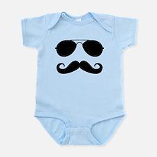 Macho Mustache Onesie