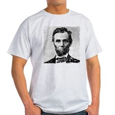 Distressed Abe Lincoln T-Shirt