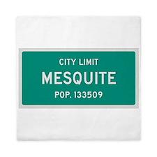 Mesquite, Texas City Limits Queen Duvet