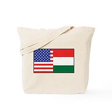 USA/Hungary Tote Bag