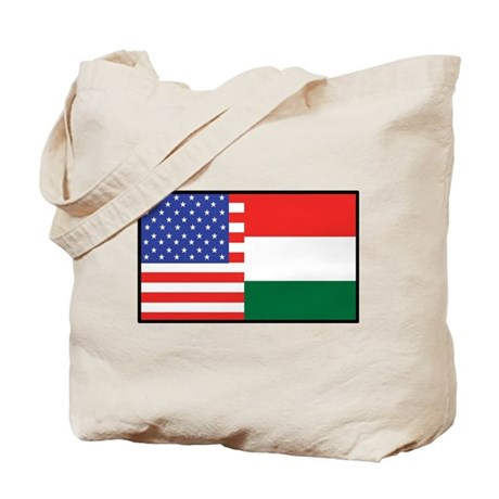 USA/Hungary Tote Bag
