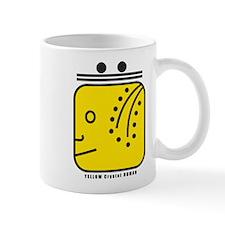 YELLOW Magnetic HUMAN Mug