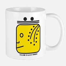 YELLOW Magnetic HUMAN Mug