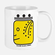 YELLOW Cosmic HUMAN Mug