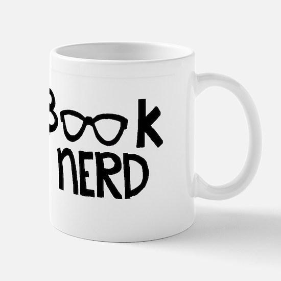 Book Nerd With Glasses Mug