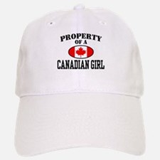 Property of a Canadian Girl Baseball Baseball Cap