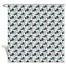 French Horn Music Shower Curtain