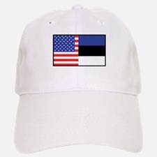 USA/Estonia Baseball Baseball Cap