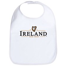 IRELAND / IRISH PRIDE (dark text) Bib
