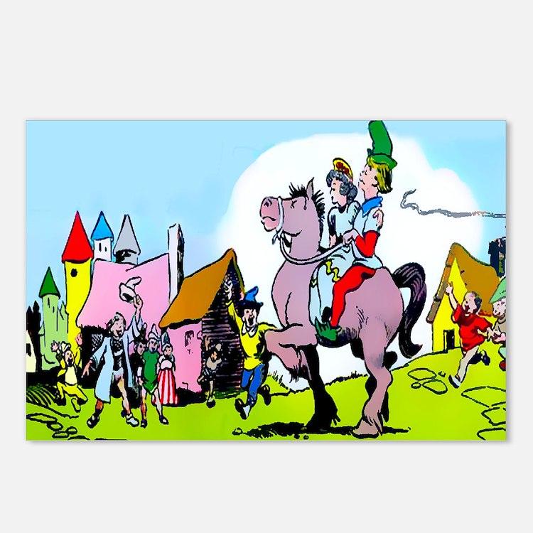 Jack the Giant Killer Princess Postcards (Package