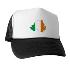 Northern Ireland (Map with Tri-Colour Flag) Trucke
