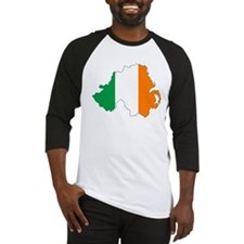 Northern Ireland (Map with Tri-Colour Flag) Baseba