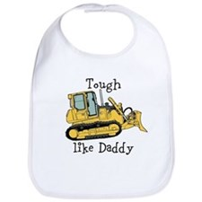Tough Like Daddy Tractor Bib