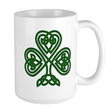 Celtic Clover (dark) Mug