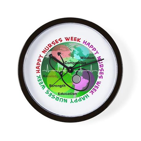 happy nurses week 2013 2 Wall Clock