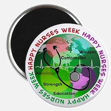 """happy nurses week 2013 2 2.25"""" Magnet (100 pack)"""