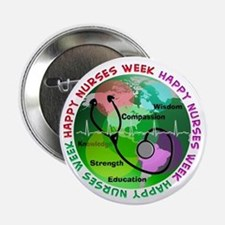 "happy nurses week 2013 2 2.25"" Button (10 pack)"