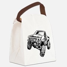 rock crawling Canvas Lunch Bag