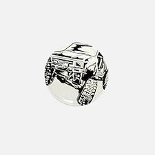 rock crawling Mini Button