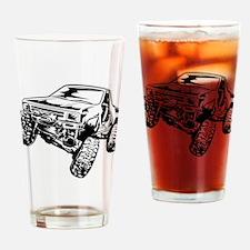 rock crawling Drinking Glass