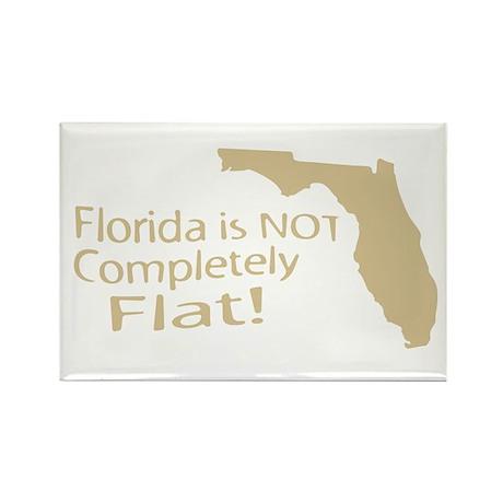 Florida Flat? Rectangle Magnet