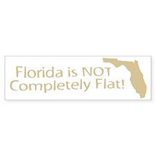 Florida Flat? Bumper Bumper Sticker