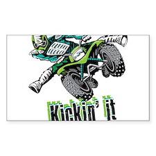 atv Quad kick Decal