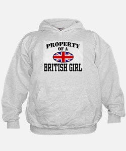 Property of a British Girl Hoodie