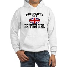 Property of a British Girl Jumper Hoody