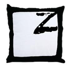 Z Shirt Throw Pillow