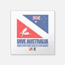 Dive Australia 2 Sticker