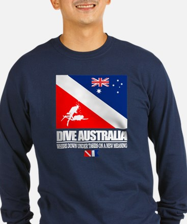 Dive Australia 2 Long Sleeve T-Shirt