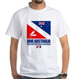 Great barrier reef Mens White T-shirts