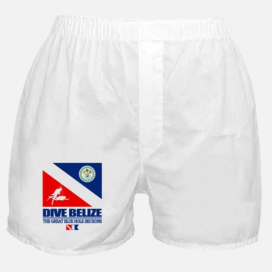 Dive Belize Boxer Shorts