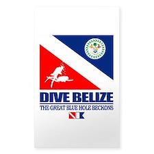 Dive Belize Decal