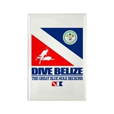 Dive Belize Rectangle Magnet