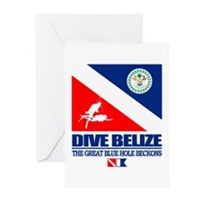 Dive Belize Greeting Cards (Pk of 10)