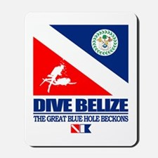 Dive Belize Mousepad