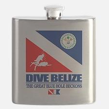 Dive Belize Flask