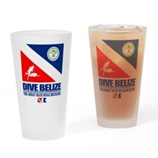 Dive Belize Drinking Glass